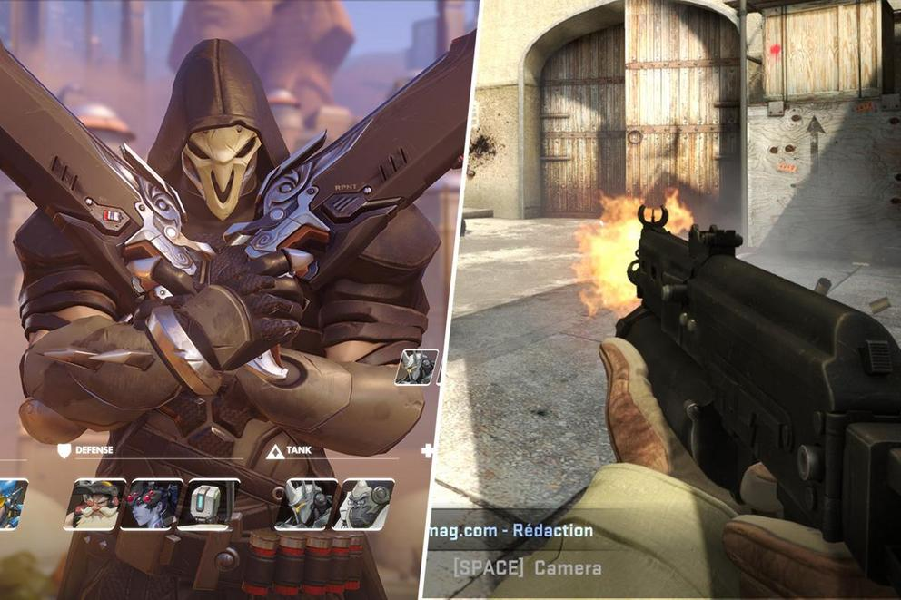 What is the best competitive shooter: Overwatch or CS:GO?