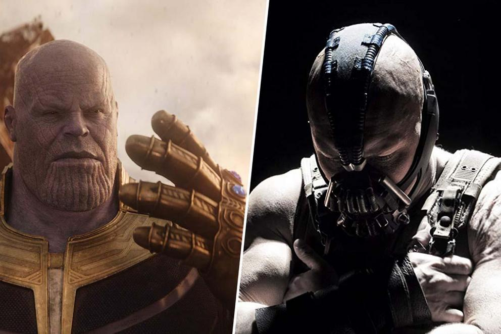 Who's the true supervillain: Thanos or Bane?
