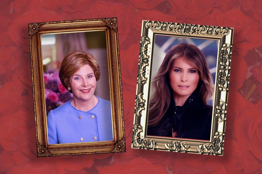 Who is your favorite First Lady: Laura Bush or Melania Trump?