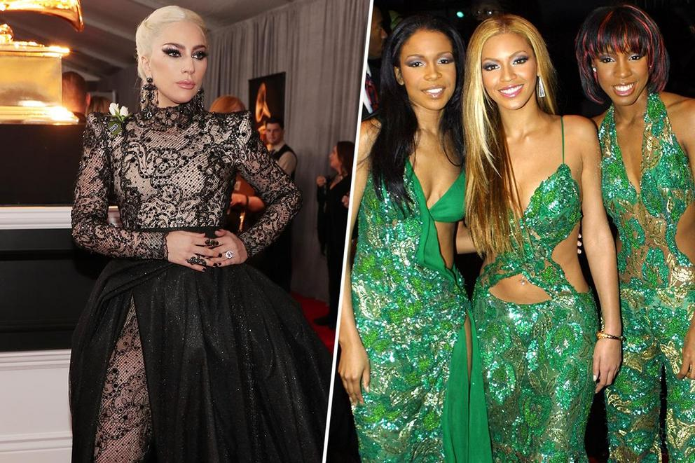 Best dressed at the Grammys of all time: Lady Gaga or Destiny's Child?