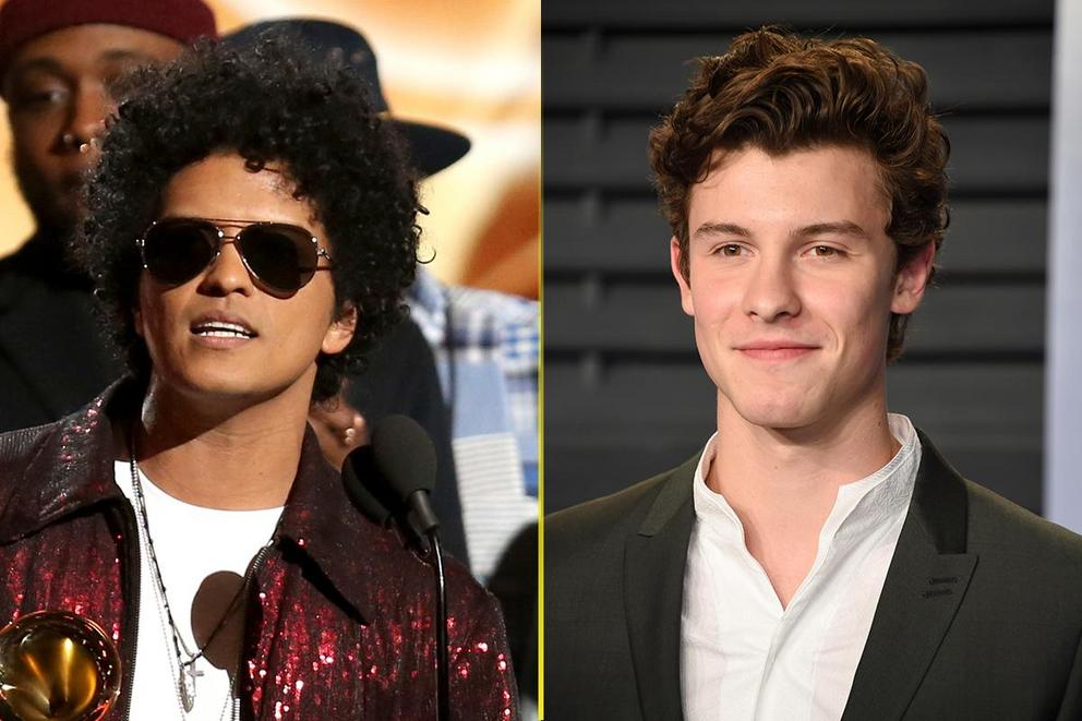 Kids' Choice Awards Favorite Male Artist: Bruno Mars or Shawn Mendes?