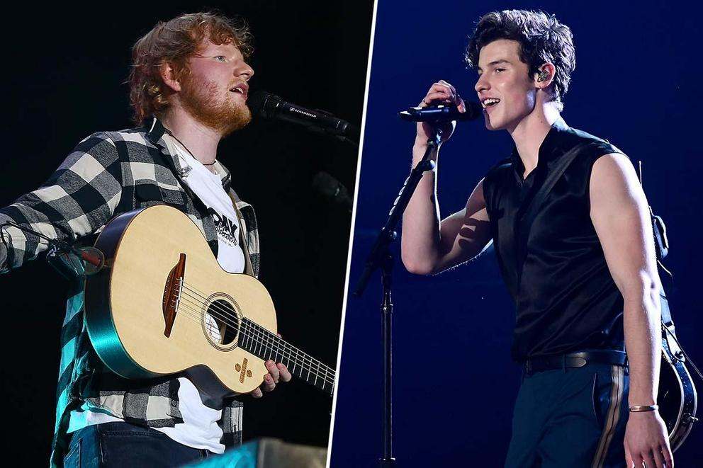 2019 iHeartRadio Male Artist of the Year: Ed Sheeran or Shawn Mendes?