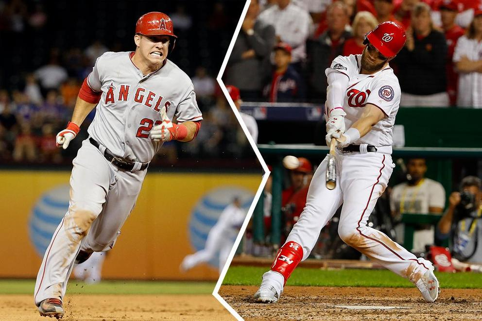 MLB player of the year: Mike Trout or Bryce Harper?