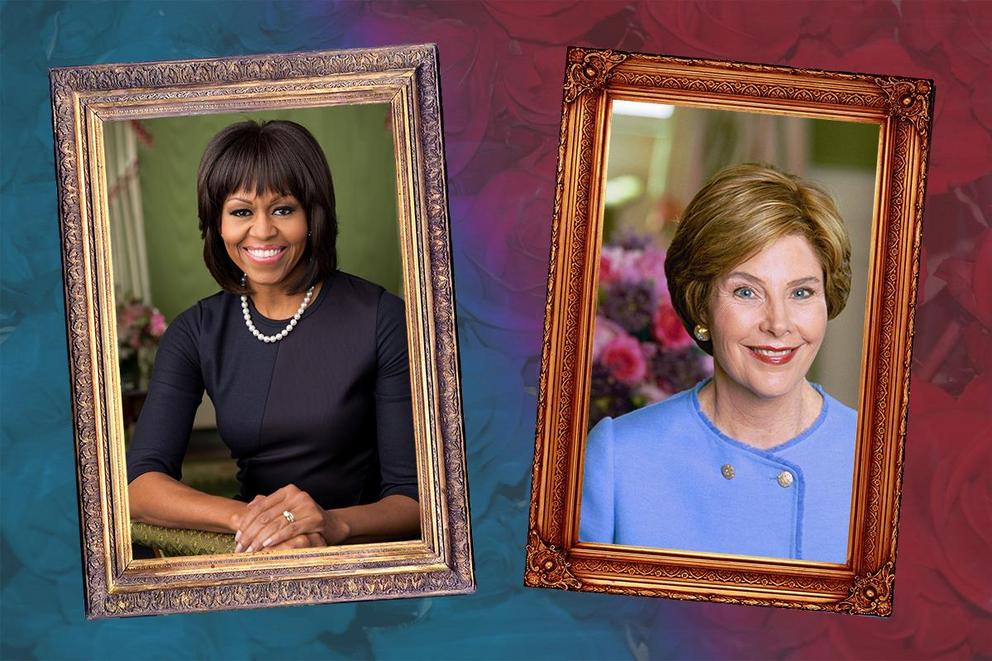 Who is your favorite First Lady: Michelle Obama or Laura Bush?