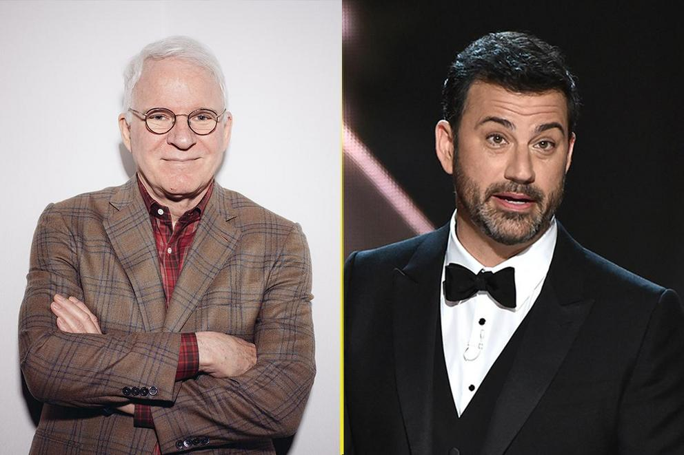 Who's funnier—Steve Martin or Jimmy Kimmel?