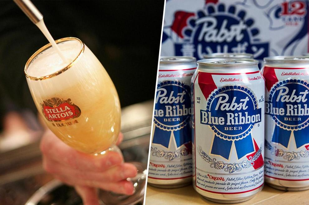 America's favorite beer: Stella or PBR?