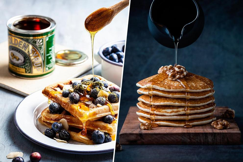 Which breakfast food is superior: Waffles or pancakes?