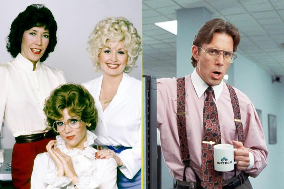 Best bad boss movie: '9 to 5' or 'Office Space'?