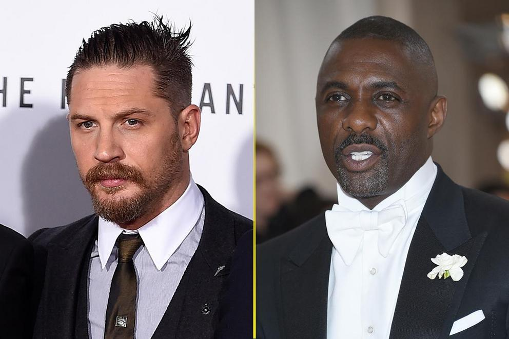 Who should be the next James Bond: Tom Hardy or Idris Elba?