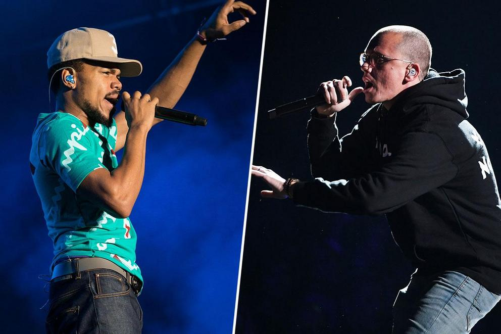 Who's your favorite socially conscious rapper: Chance the Rapper or Logic?