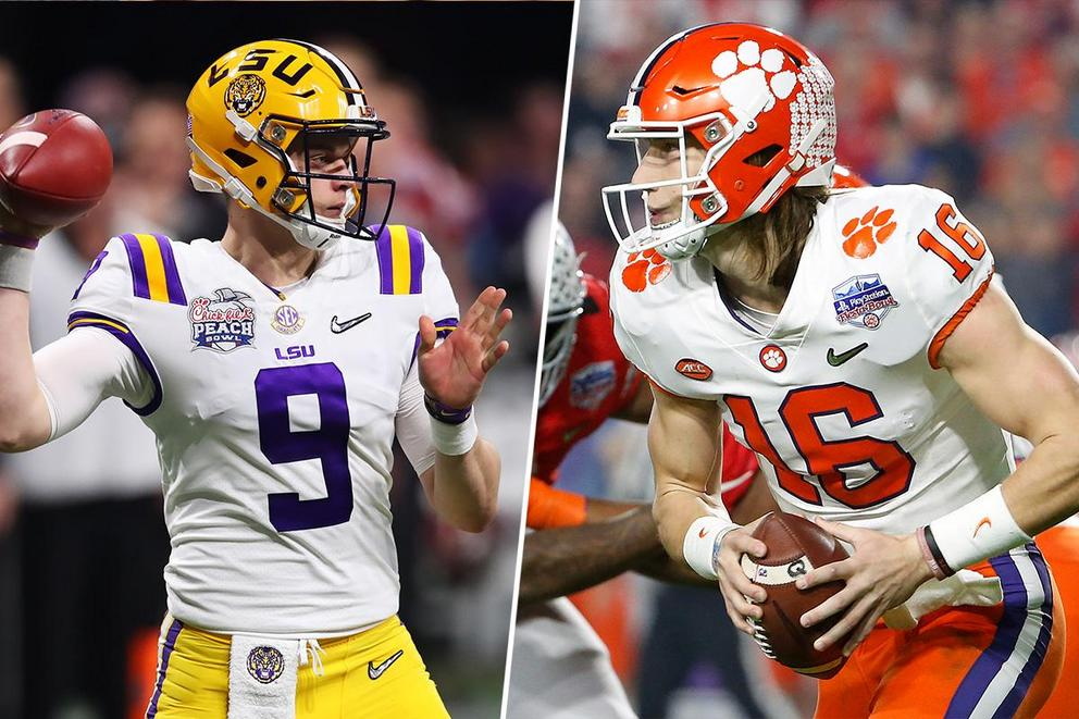 Who will win the College Football Playoff National Championship: LSU or Clemson?