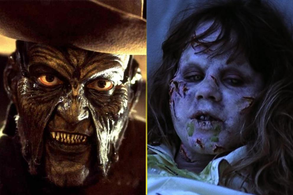 Scariest movie monster: The Creeper or Pazuzu?