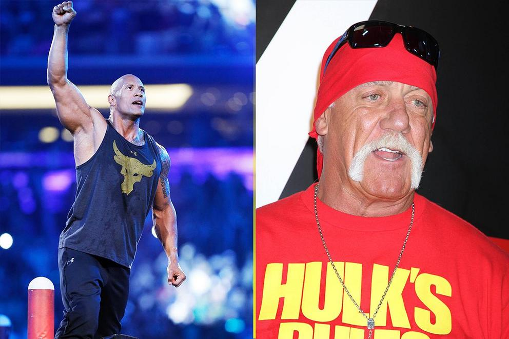 Best WWE face: Dwayne 'The Rock' Johnson or Hulk Hogan?