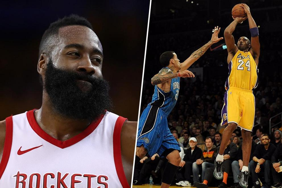 Best NBA GIF: Harden's side-eye or Kobe Bryant's non-reaction?