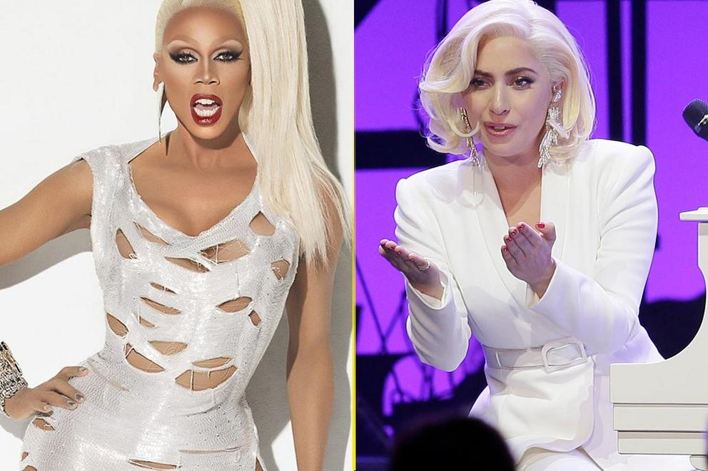 Music's greatest gay icon: RuPaul or Lady Gaga?