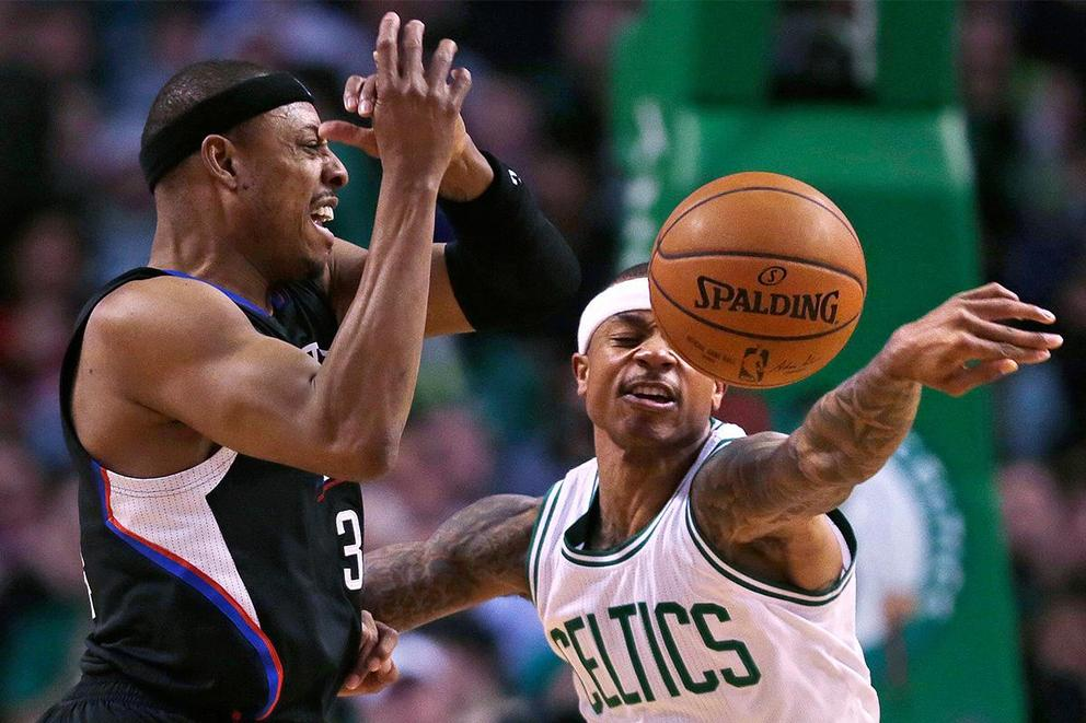Should the Celtics honor Isaiah Thomas during Paul Pierce's jersey retirement?