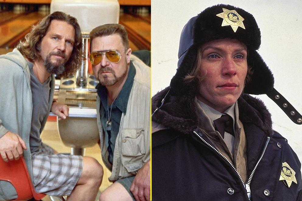 The Coen Brothers' best '90s movie: 'The Big Lebowski' or 'Fargo'?