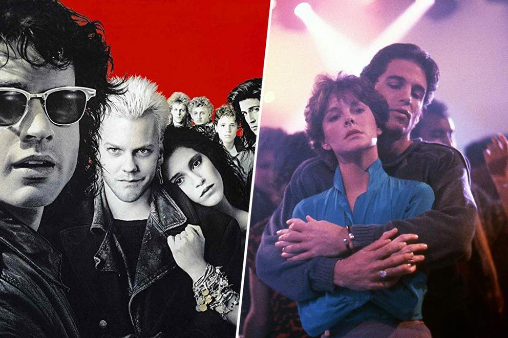 Which is the best 80's glam vampire movie: 'Lost Boys' or 'Fright Night'?