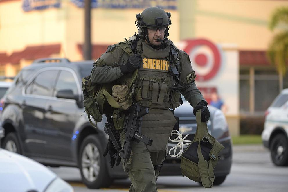 Are police officers too militarized?