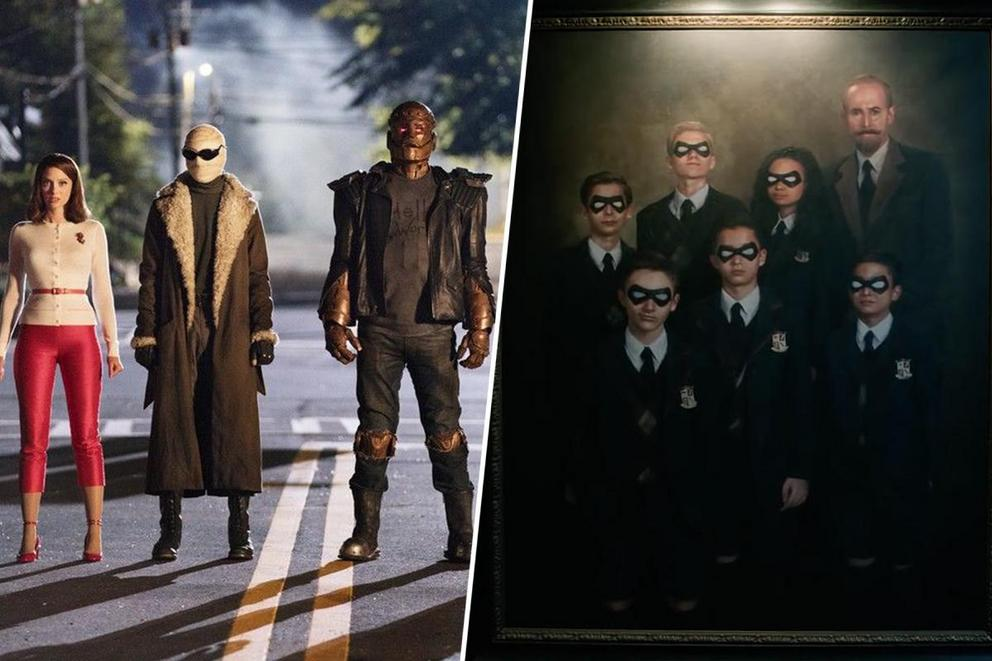 Ultimate '10s superhero show: 'Doom Patrol' or 'The Umbrella Academy'?