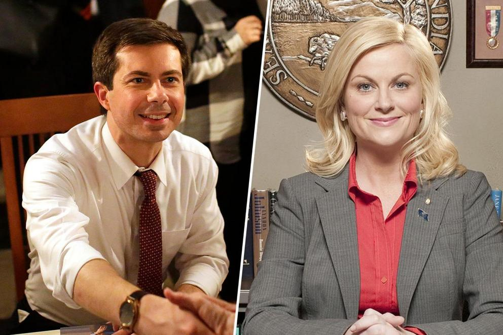 Favorite Indiana Politician: Mayor Pete or Leslie Knope?