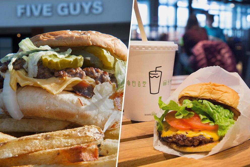 Five Guys vs. Shake Shack: Which burger chain is the best?