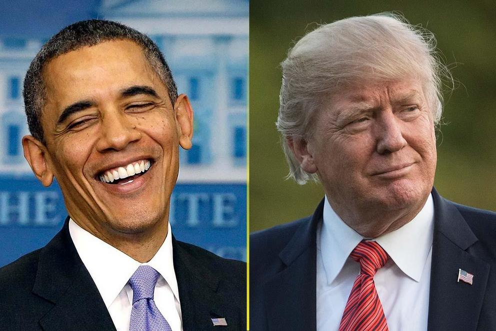 Who is responsible for the strong economy: Barack Obama or Donald Trump?
