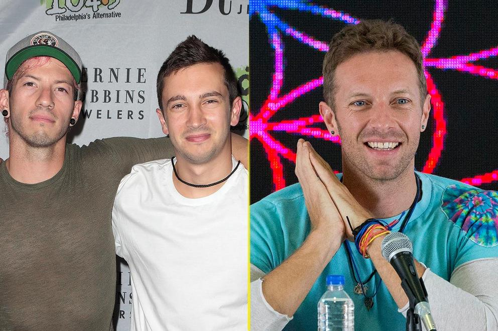Billboard's Top Duo/Group: Twenty One Pilots or Coldplay?