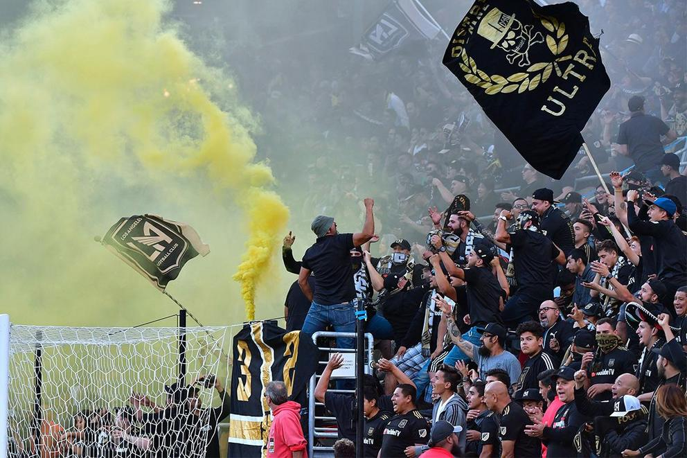 Should MLS ban LAFC fans from attending games?