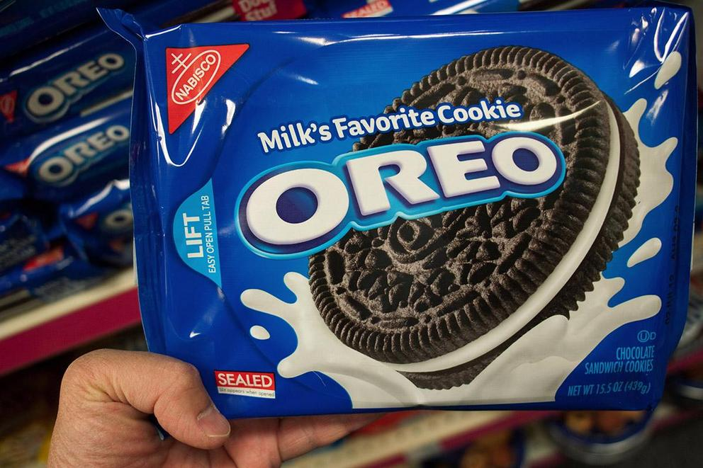 Which has the right ratio: single-stuffed or double-stuffed Oreos?