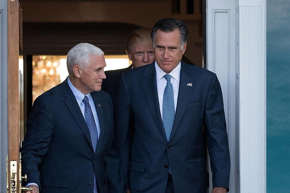Should Mitt Romney run for president against Donald Trump?