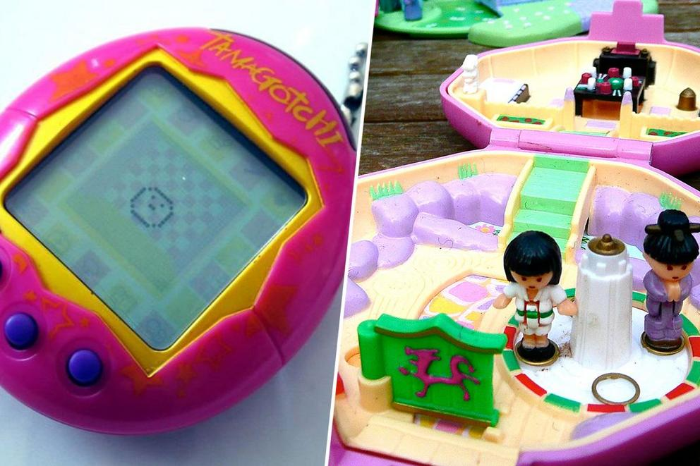 Favorite '90s throwback toy: Tamagotchis or Polly Pockets?