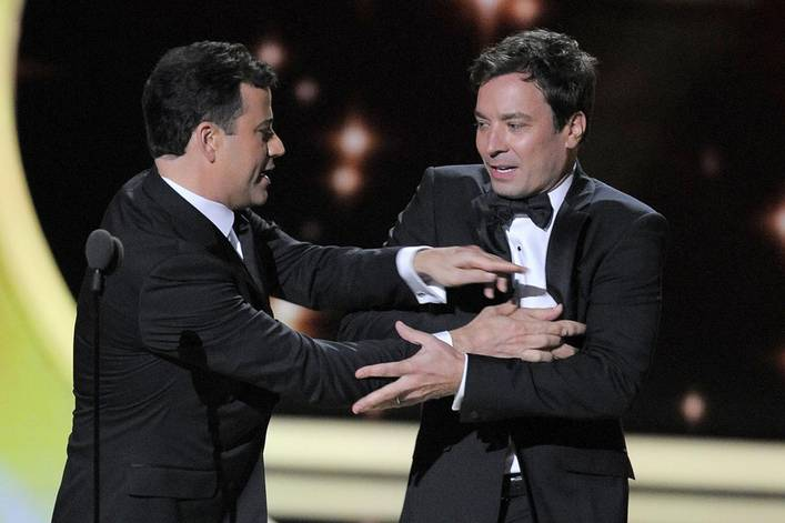 Who's the real king of late night: Jimmy Fallon or Jimmy Kimmel?