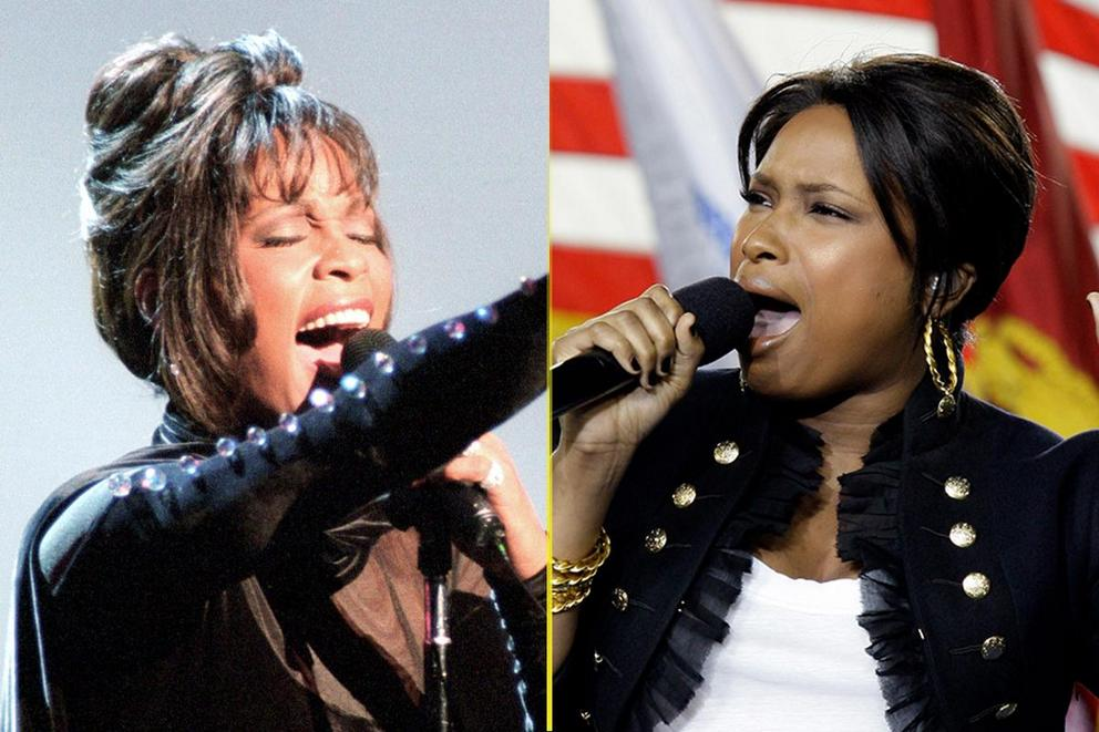 Best national anthem performance ever: Whitney Houston or Jennifer Hudson?