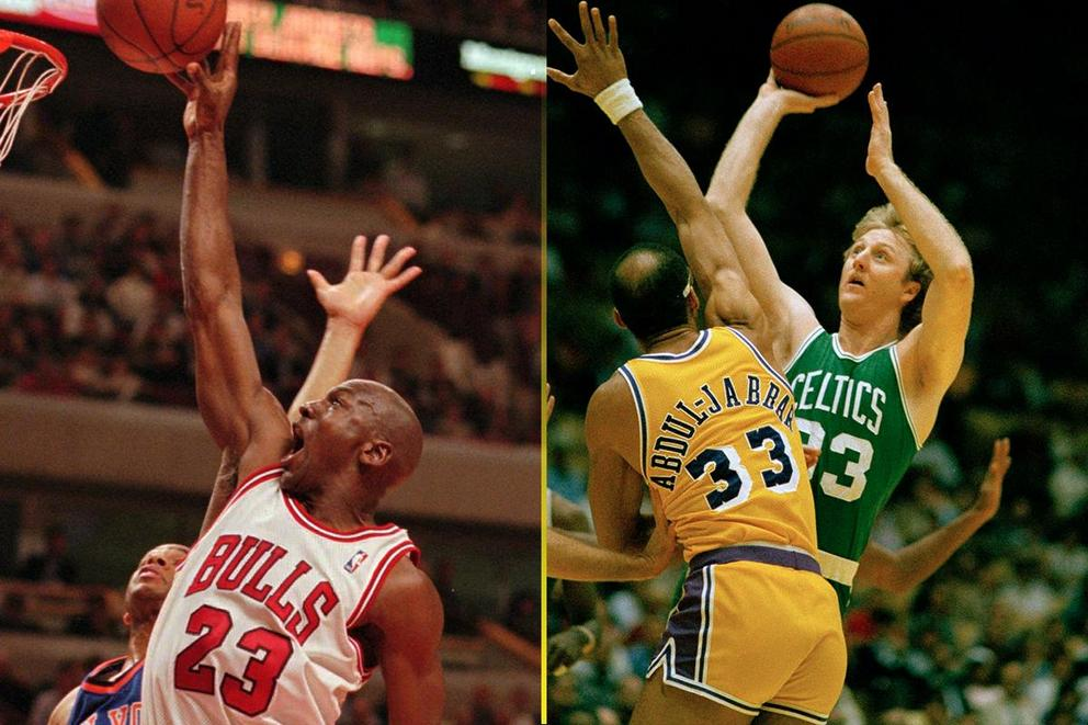 Best NBA trash talker: Michael Jordan or Larry Bird?
