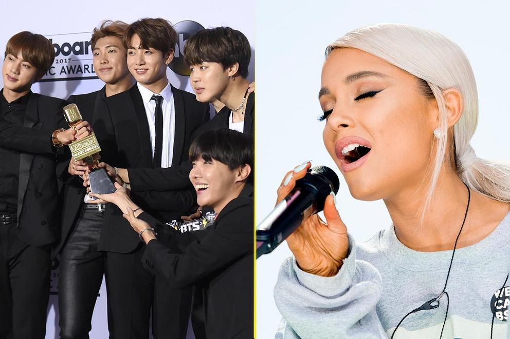 Billboard's Top Social Artist: BTS or Ariana Grande?