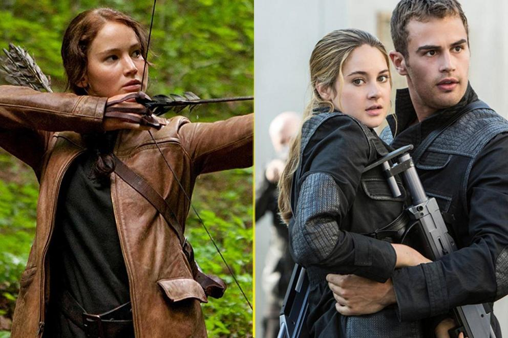 Favorite teen dystopian movie: 'The Hunger Games' or 'Divergent'?