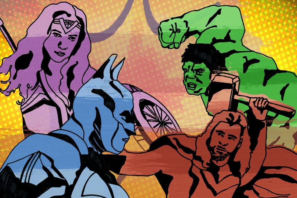 Who would win in an all-out brawl: Justice League or the Avengers?