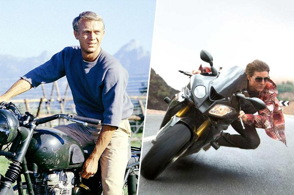 When you need to get somewhere fast, who's driving: Steve McQueen or Tom Cruise?
