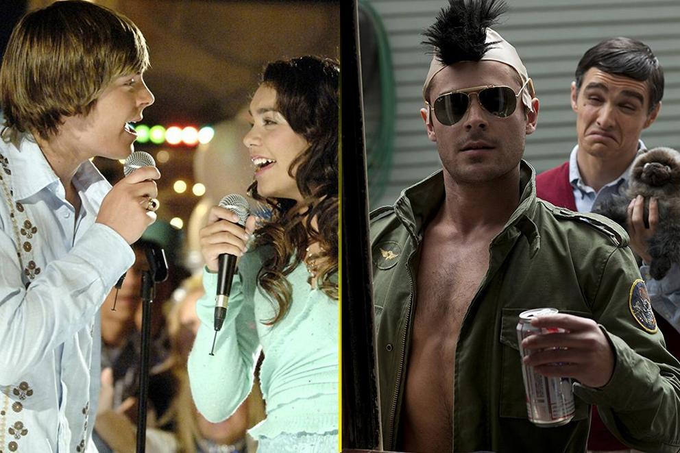 Favorite Zac Efron movie: 'High School Musical' or 'Neighbors'?
