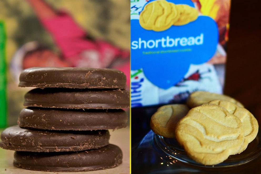 Which Girl Scout cookie is better: Thin Mints or Trefoils?
