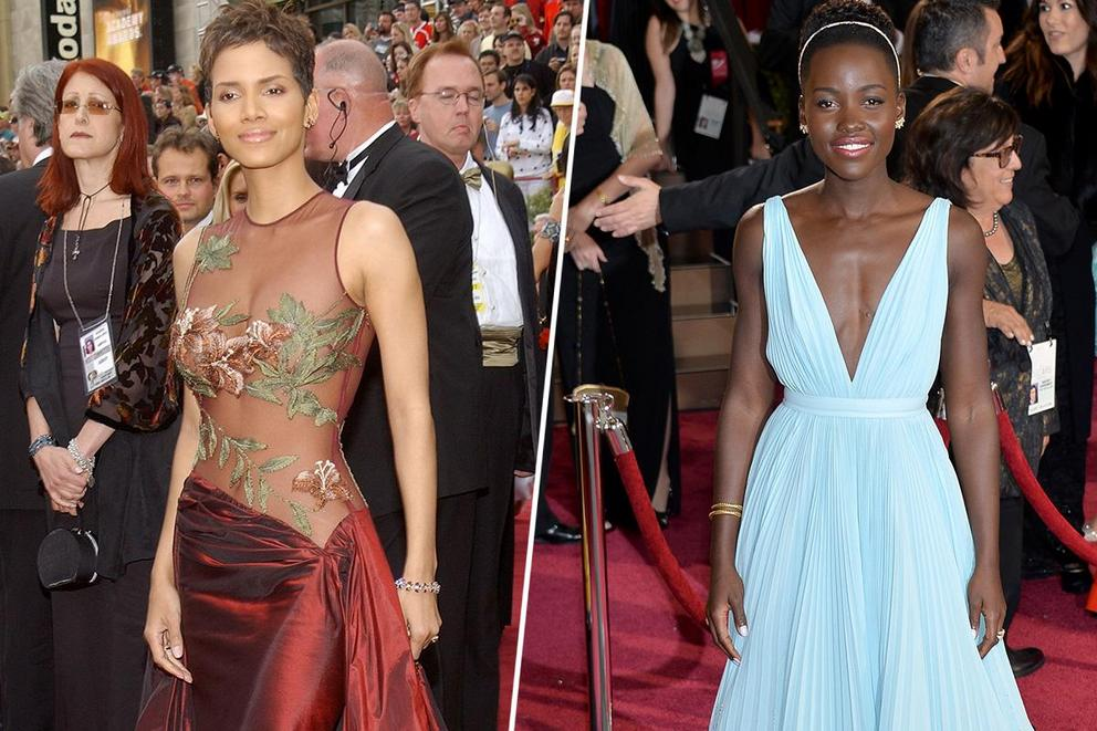 Best dressed at the Oscars of all time: Halle Berry or Lupita Nyong'o?