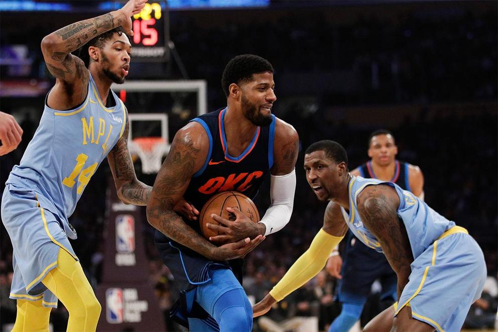 Is Paul George coming to the Los Angeles Lakers?