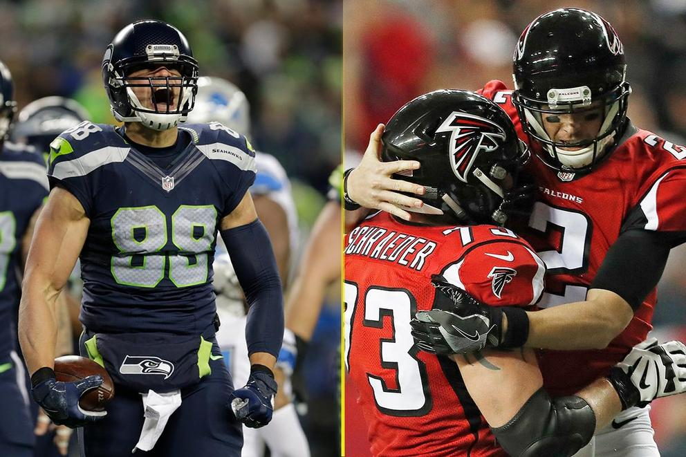 Who will win the NFL Divisional Round: Seahawks or Falcons?
