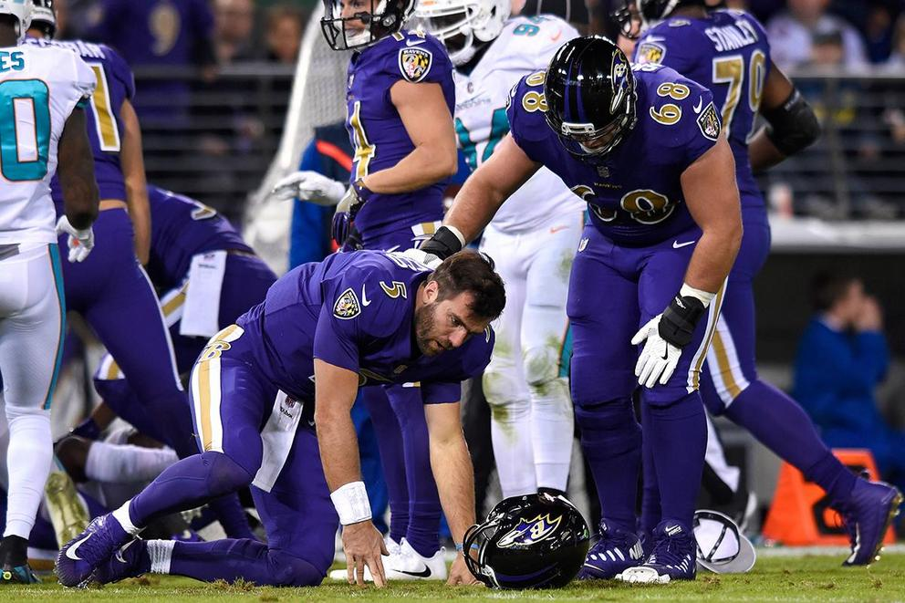 Are the Baltimore Ravens better without Joe Flacco?