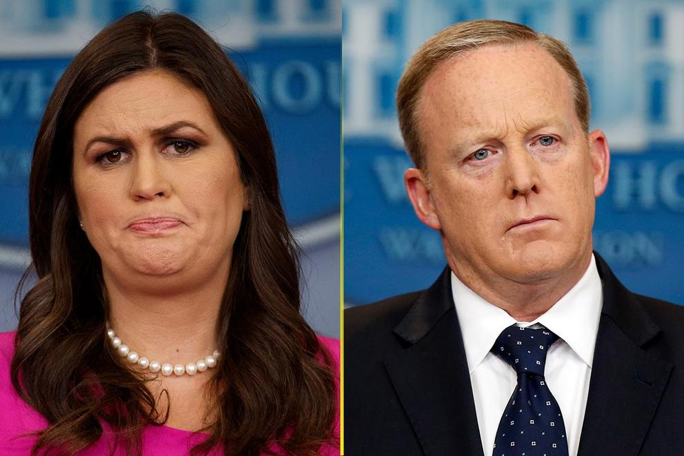 Who's the better press secretary: Sarah Huckabee Sanders or Sean Spicer?