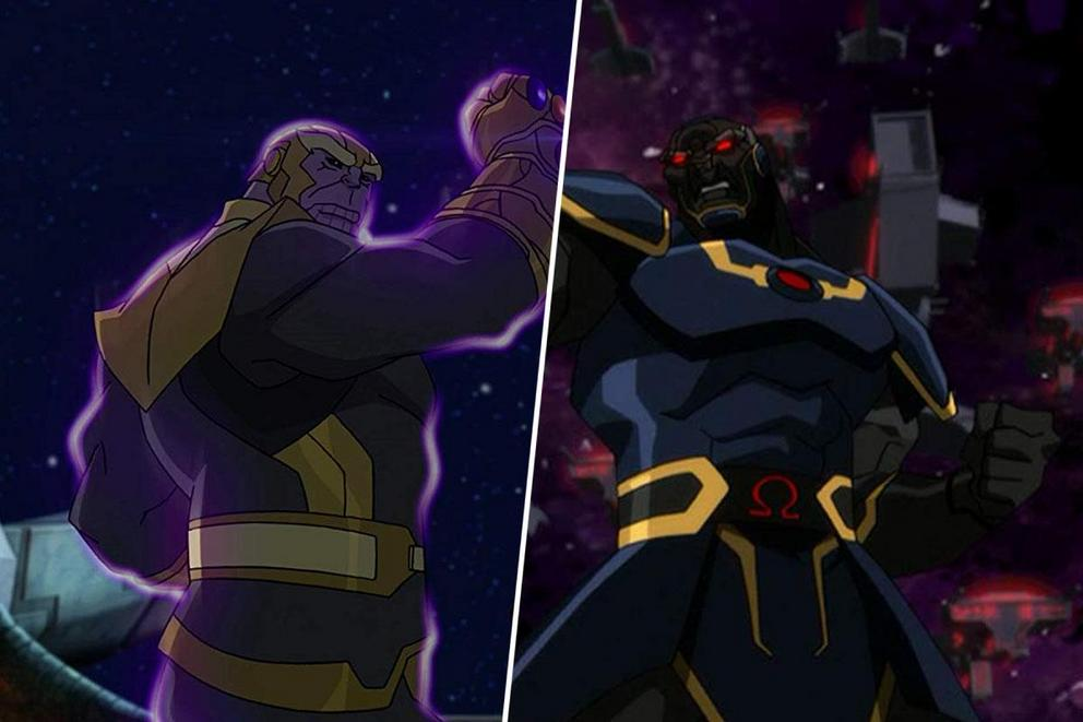 Who would win in a brawl: Thanos or Darkseid?