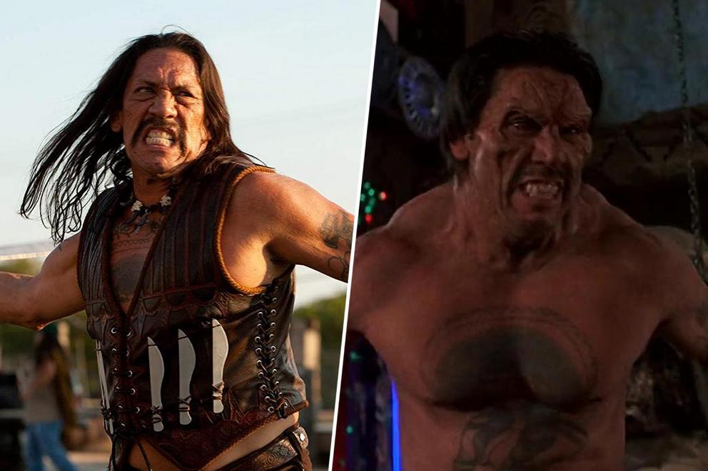 Who's the most iconic Danny Trejo character—Machete or Razor Charlie?