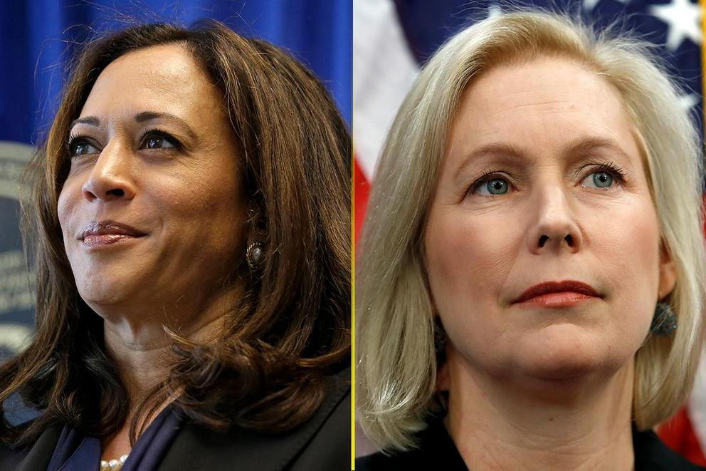 Who should be the first female president: Kamala Harris or Kirsten Gillibrand?