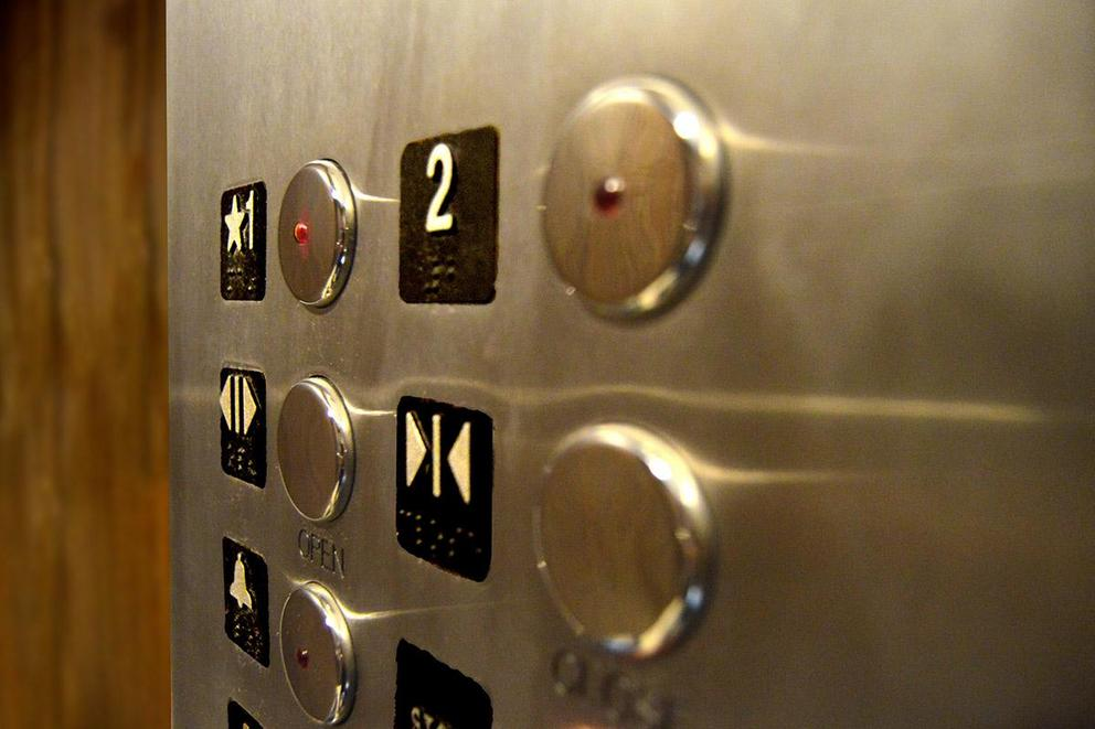 Is it okay to take the elevator to the second floor?
